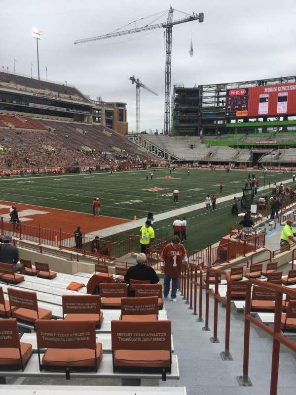 Texas Memorial Stadium, section: 14, row: 15, seat: 1