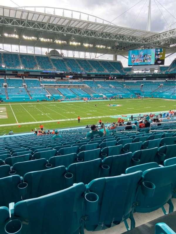 Hard Rock Stadium, section: 122, row: 39, seat: 11