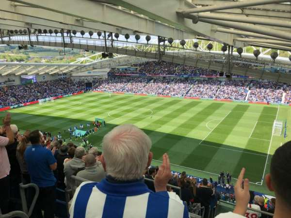 American Express Community Stadium, section: W3A