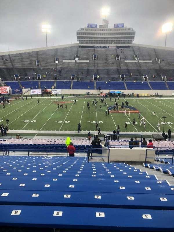Liberty Bowl Memorial Stadium, section: 121, row: 47, seat: 4