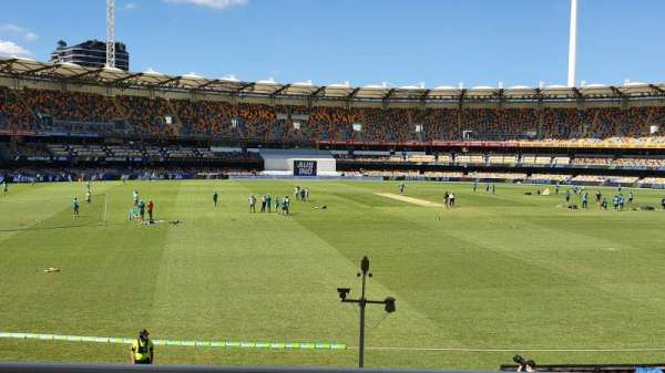 The Gabba, section: 205, row: T, seat: 328