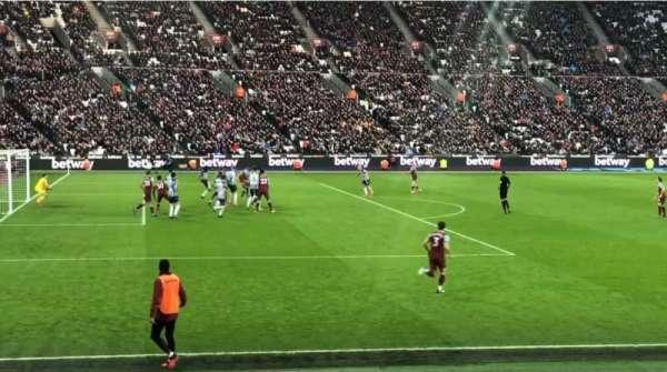 London Stadium, section: 104, row: 11, seat: 407