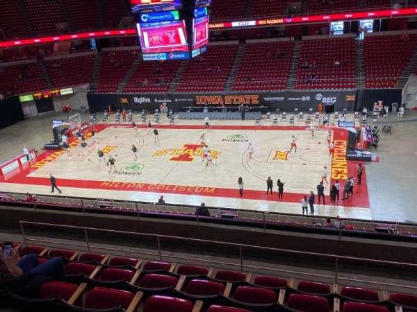 Hilton Coliseum, section: 231, row: 6, seat: 5
