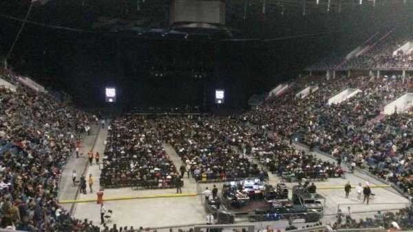 Tauron Arena Kraków, section: A06, row: 25, seat: 20