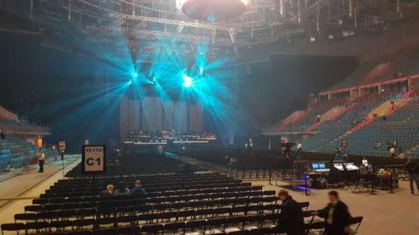 Tauron Arena Kraków, section: A07, row: 4, seat: 7