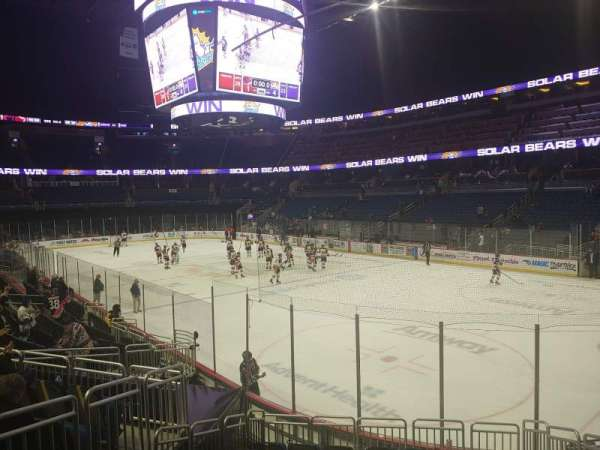 Amway Center, section: 103, row: 15, seat: 5