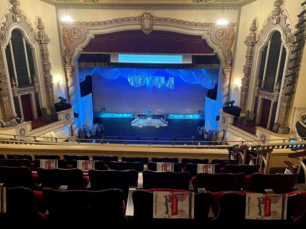 Saenger Theatre (Pensacola), section: Balcony, row: J, seat: 110