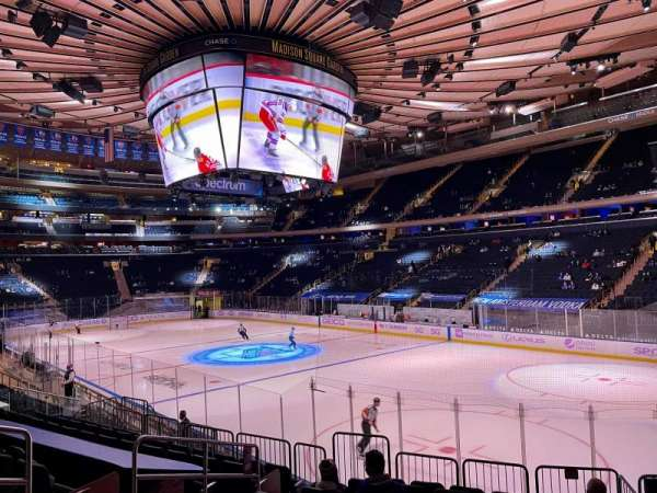 Madison Square Garden, section: 120, row: 12, seat: 6