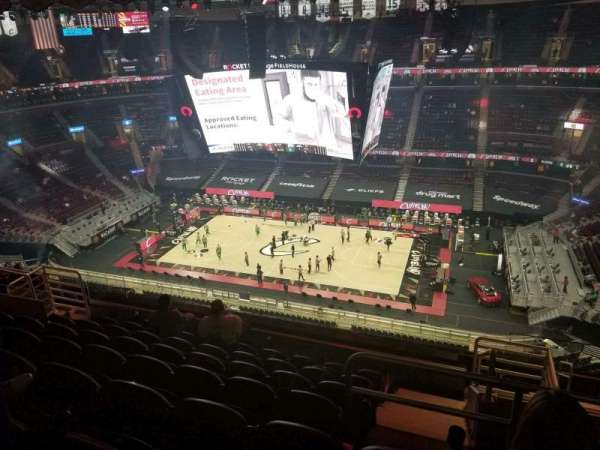 Rocket Mortgage FieldHouse, section: 222, row: 13, seat: 3