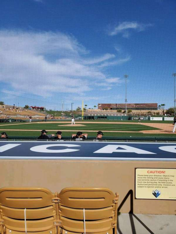 Camelback Ranch, section: 9, row: 6, seat: 1