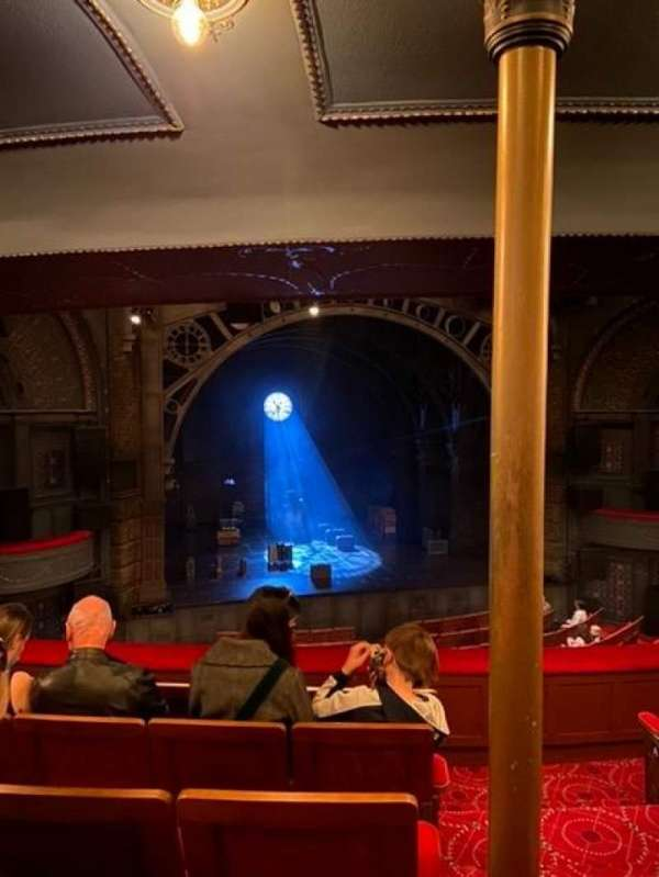 Princess Theatre (Melbourne), section: Dress Circle, row: E, seat: 14