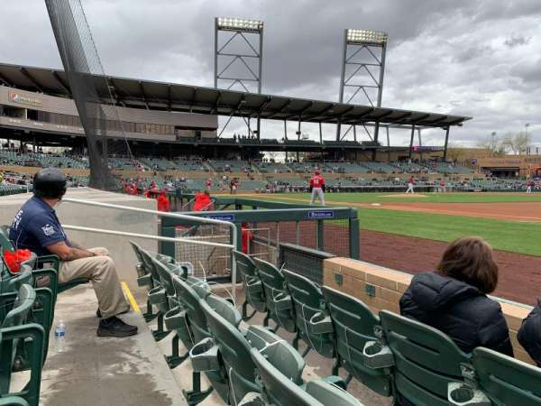 Salt River Fields, section: 104, row: 3, seat: 2