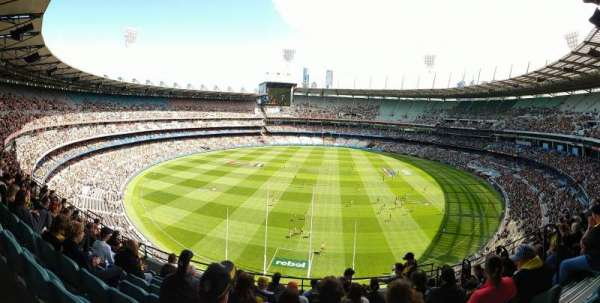 Melbourne Cricket Ground, section: Q3, row: J, seat: 4