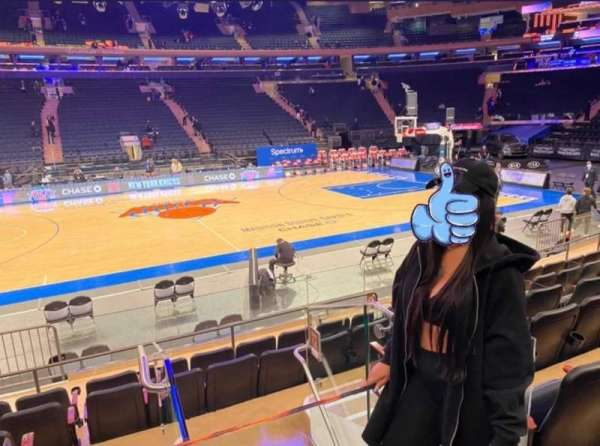 Madison Square Garden, section: 117, row: 6, seat: 1