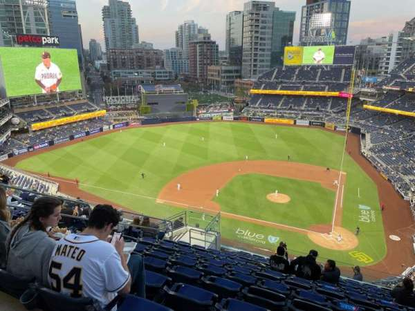 PETCO Park, section: 308, row: 19, seat: 8