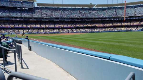 Dodger Stadium, section: 46FD, row: A, seat: 14