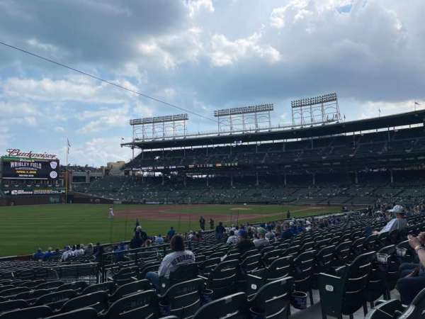 Wrigley Field, section: 105, row: 12, seat: 10