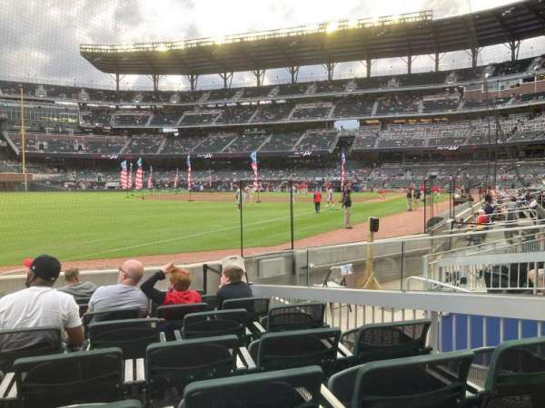 Truist Park, section: 41, row: 8, seat: 6