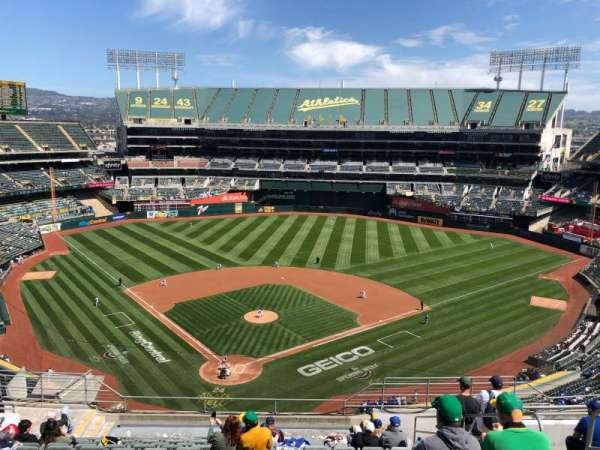 Oakland Coliseum, section: 316, row: 15, seat: 4