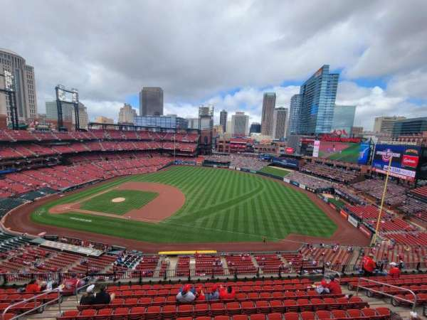 Busch Stadium, section: 439, row: 1, seat: 8