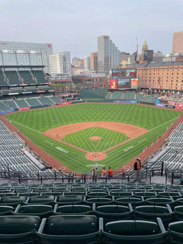 Oriole Park at Camden Yards, section: 336, row: 20, seat: 8