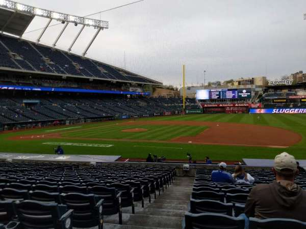 Kauffman Stadium, section: 137, row: U, seat: 1