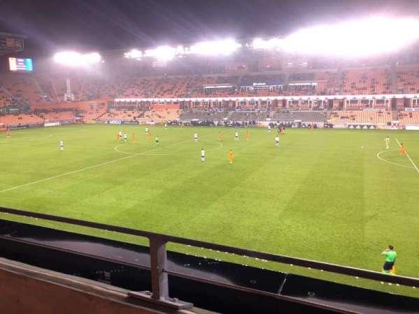 BBVA Stadium, section: 224, row: A, seat: 17