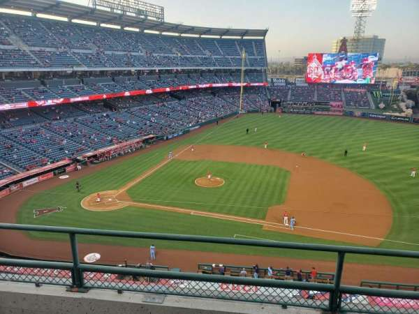 Angel Stadium, section: V425, row: C, seat: 17