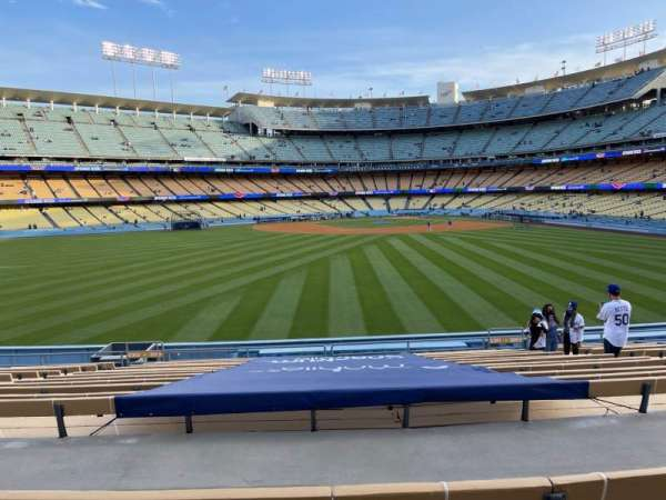 Dodger Stadium, section: 311PL, row: P, seat: 7