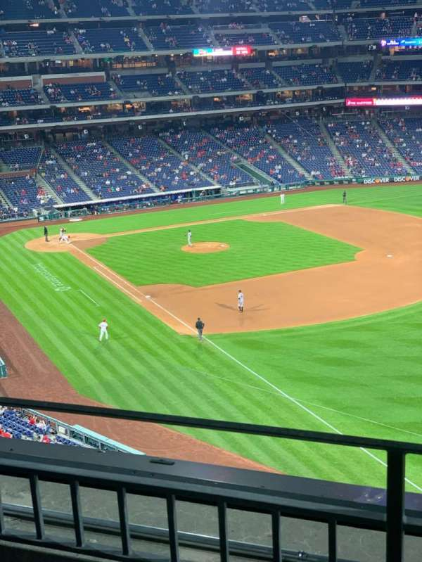 Citizens Bank Park, section: 308, row: 2, seat: 17