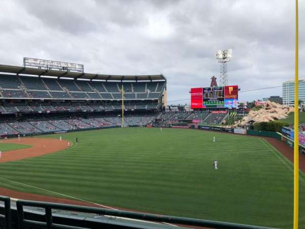 Angel Stadium, section: C346, row: B, seat: 7