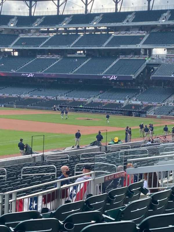 Truist Park, section: 140, row: 6, seat: 15