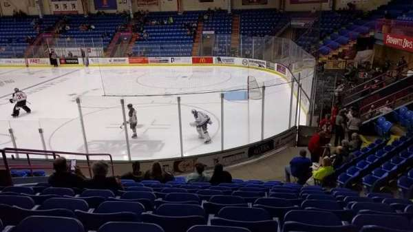 1st Summit Arena, section: 6, row: M, seat: 9