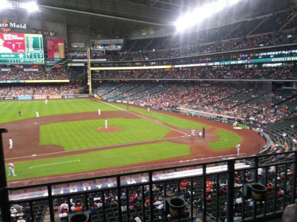 Minute Maid Park, section: 213, row: 2, seat: 1