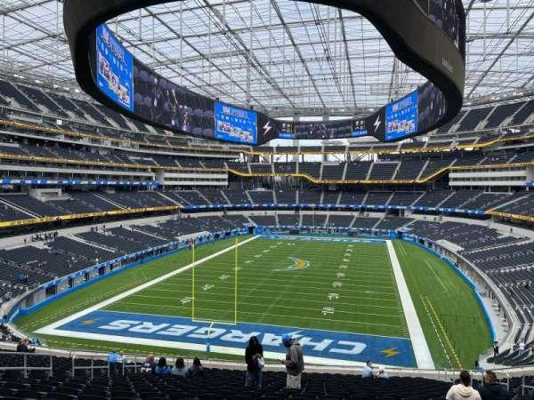 SoFi Stadium, section: 234, row: 23, seat: 11