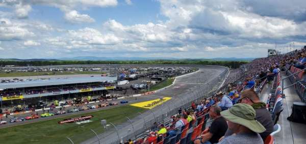 Talladega Superspeedway, section: O.V. tower south, row: 43, seat: 1