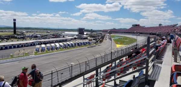Talladega Superspeedway, section: Lincoln Tower, row: 31, seat: 6