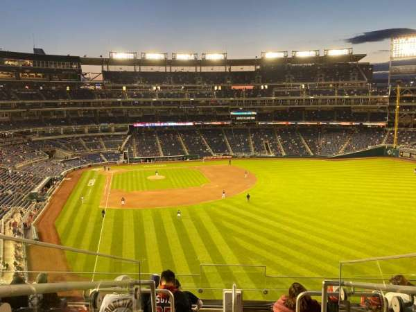 Nationals Park, section: 236, row: H, seat: 15