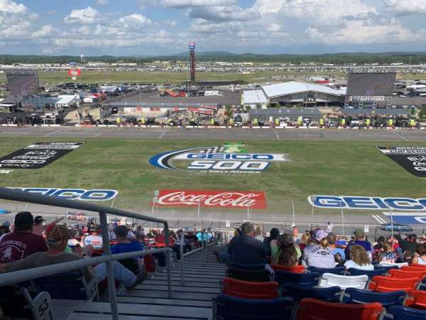 Talladega Superspeedway, section: Tri-Oval Tower, row: 56, seat: 16