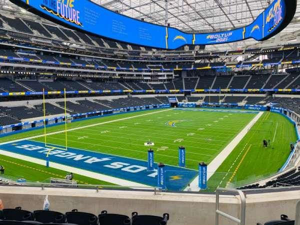SoFi Stadium, section: 210, row: 5, seat: 1