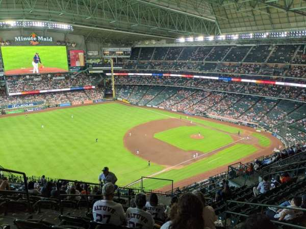 Minute Maid Park, section: 407, row: 14, seat: 5