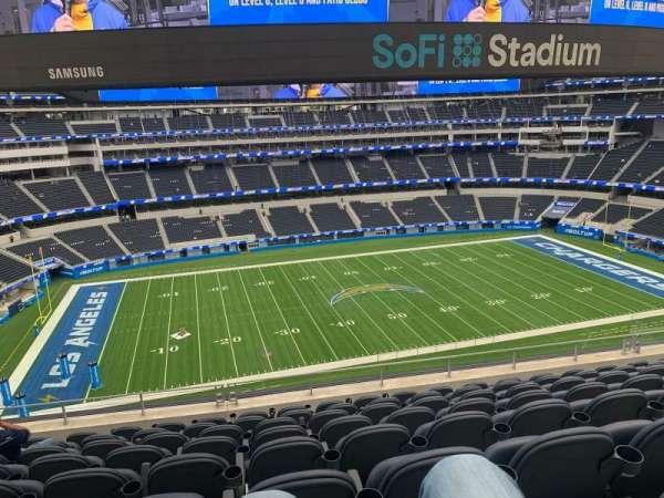 SoFi Stadium, section: VIP220, row: 8, seat: 10