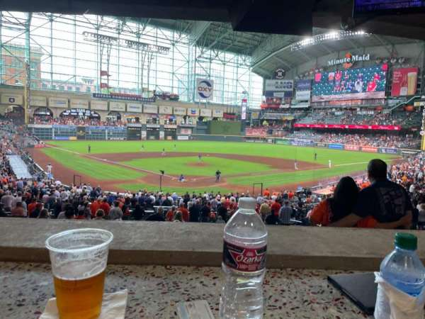 Minute Maid Park, section: 73, row: 1, seat: 10