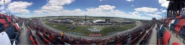 Talladega Superspeedway, section: Tri-oval N, row: 64, seat: 10-11