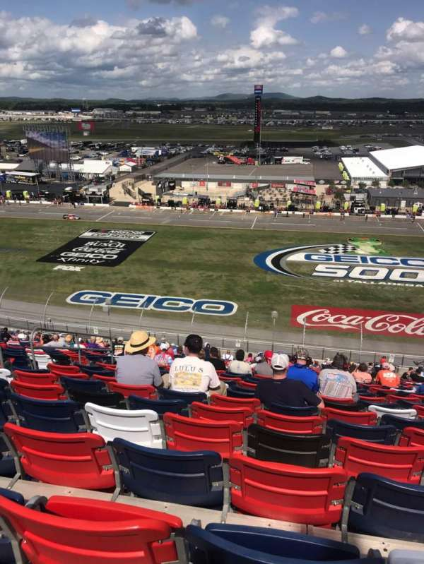 Talladega Superspeedway, section: Tri-oval Tower N, row: 64, seat: 10-11