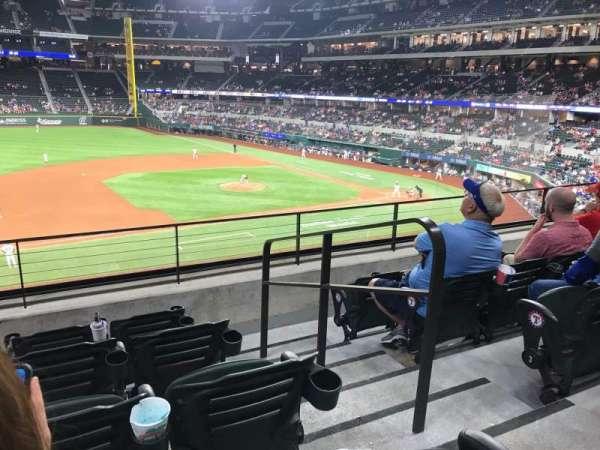 Globe Life Field, section: 107, row: 5, seat: 19