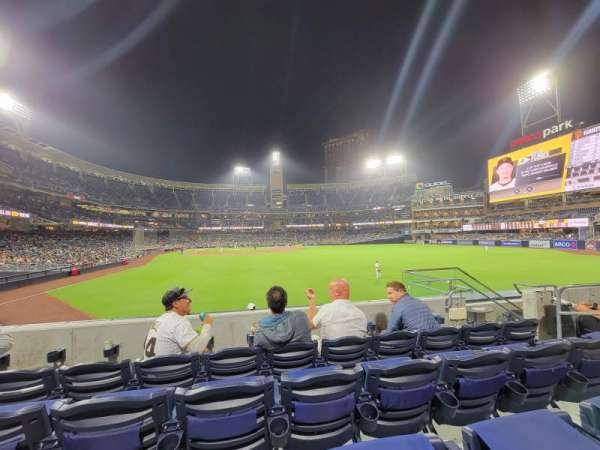 PETCO Park, section: 131, row: 4, seat: 13