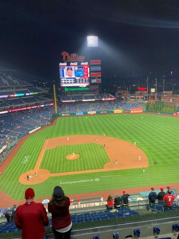 Citizens Bank Park, section: 416, row: 5, seat: 9