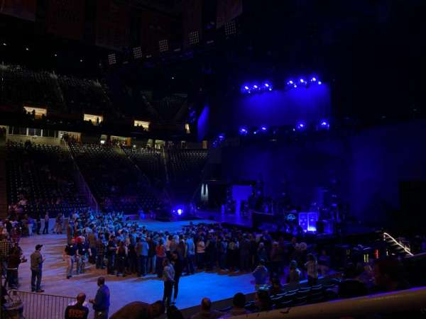 Thompson-Boling Arena, section: 105, row: 10, seat: 1
