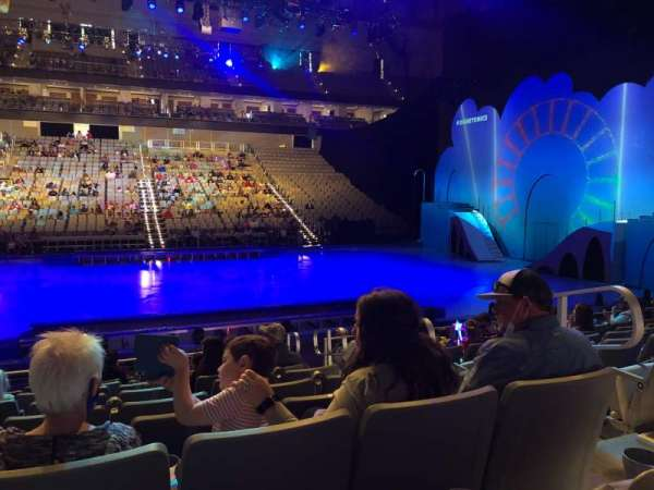 Dickies Arena, section: 107, row: 9, seat: 4